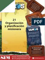 21 Organización y Planificación Misionera