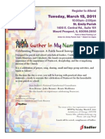 Gather In My Name Archdiocese of Chicago Event