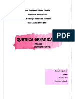 Ensayo argumentativo, química orgánica