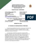 Taller UNIDAD II ARQUICTECTURA Y URBANISMO RAUL DIANA ING.CIVIL