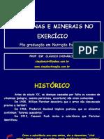 Metabolismo de Vitaminas e Minerais