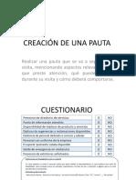 S2S6- CREACIÓN DE UNA PAUTA