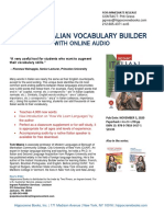 Instant Italian Vocab Builder 2020 Press Release