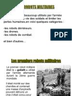 Les Robots Militaires