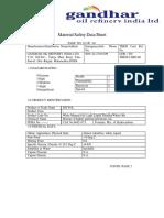 Aceite mineral - Hoja de seguridad - Gandhar - Ingles.pdf