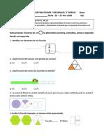 Taller Fracciones y decimales 5° básico