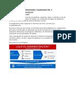 Cuestionario 1 administración respuestas