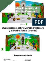 Monseñor Romero y el Padre Rutilio Grande