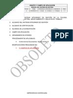 CE-MG-OA-1.0 Objeto y Campo de Aplicación.Rev06