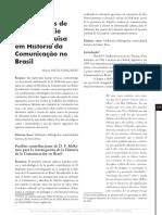 Possiveis contribuicoes de D.F. McKenzie para a pesquisa em historia da comunicacao no brasil