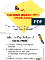ASSESSING CHILDREN WITH SPECIAL NEEDS (for Teachers) - Leonard final