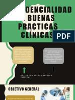 Confidencialidad y buenas practicas clínicas ELECTIVA I