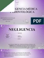EXP. Negligencia médica y odontológica