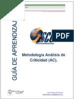 Metodología Análisis de Criticidad (AC). - PDF Descargar libre