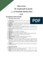 Guía #3 Explorando la poesía