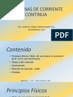 MÁQUINAS DE CORRIENTE CONTINUA I
