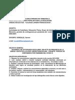 ACTIVIDADES 2DO HASTA  5 TO AÑO A-B PRIMER MOMENTO