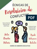 Técnicas de resolución de conflictos  333
