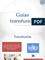 expo guias transfusion