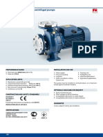 Pedrollo Close Coupled Centrifugal Pump - Flange Connection - F