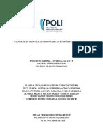 PROYECTO GESTION DE LA INFORMACION ENTREGA 1 - 2  y 3.docx