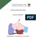 GUIA DE MANEJO DE LA VIA AEREA TALLER DE SIMULACIONb 22