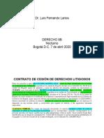 CONTRATO DE CESIÓN DE DERECHOS LITIGIOSOS _Rev. 1