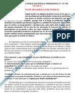 CLASE N°24 - EJERCICIOS DE DESARROLLO DE ENERGIA