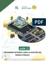 Programa de riesgo público 2020
