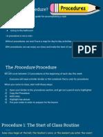 classroom management plan presentation
