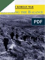 The Korean War Restoring the Balance