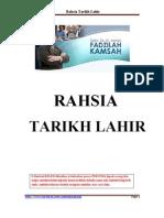 Rahsia Tarikh Lahir - Fadzilah Kamsah