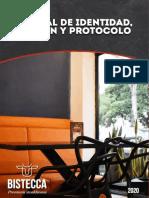 Manual de identidad, imagen y protocolo Bistecca