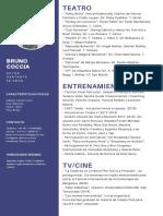 CV Bruno Coccia - Bruno Coccia