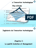 CHP1 Ingénierie de l'innovation technologique