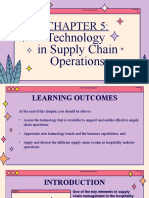 Technology in Supply Chain Operations