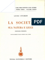 Vol. III - La societ. Sua natura e leggi (1935)