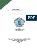PAK SUMANTARA (Fungsi Normatif Hukum Perizinan)