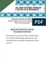 Z16_PSIKOSOSIAL DAN STIGMA TERKAIT DENGAN COVID-19 & PERAWAT