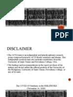 Final OcTa Nov 16 OCTA Research Monitoring Report