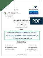 PFE-LODJI_ELABORATION DE PROCEDURES TECHNIQUES SPECIFIQUES D'UN BANC D'ESSAI PORTATIF POUR LES COMPTEURS D'EAU FROIDE.pdf