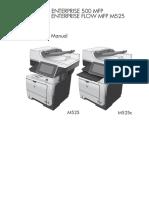 HP Laserjet M525 (troubleshooting manual).pdf