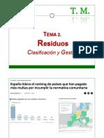 2 - Gestión de residuos y afluentes I