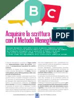 Scuola Italiana Moderna - Acquisire la scrittura con il metodo Meneghello