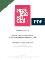 AGENCIAR A RAÇA, REINVENTAR A NAÇÃO - O MOVIMENTO PELAS REPARAÇÕES NO BRASIL.pdf