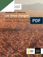 Programme Images de sciences, sciences de l'image 2020