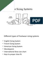 3  shoe sizing systems