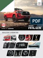 Toyota Argentina Hilux 2021 Precios