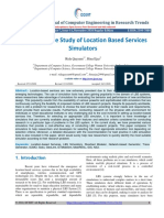 A Comparative Study of Location Based Services Simulators