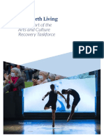 Arts and Culture Recovery Taskforce Report – LIFE WORTH LIVING
